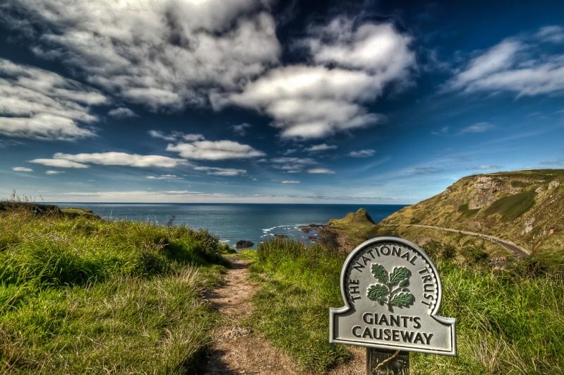 Дорога гигантов в Северной Ирландии.