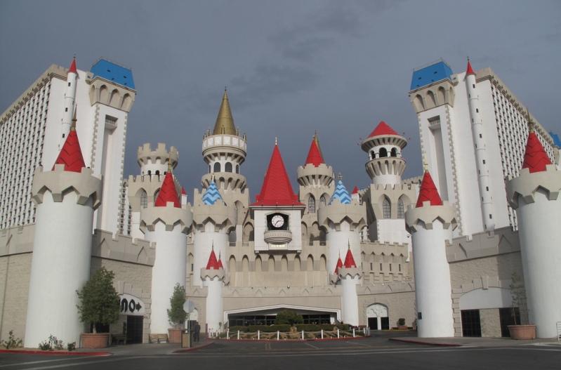Отель-казино Экскалибур, Лас-Вегас. Фото
